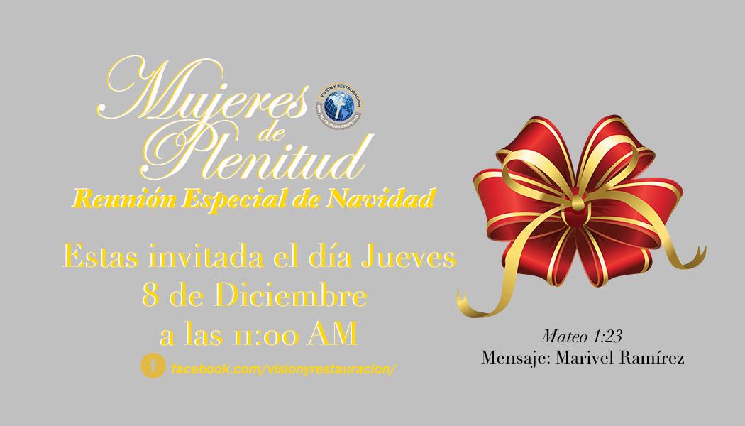 REUNIÓN ESPECIAL DE NAVIDAD